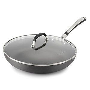 7. Calphalon 12-Inch Nonstick Fry Pan with Lid