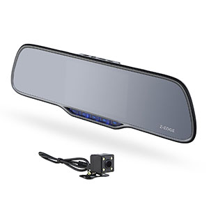 6. Z-EDGE Dual Lens Dash Cam (Z2 Plus)