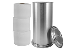 Toilet Paper Canister Holder