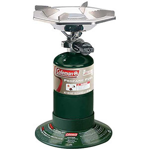 2. Coleman Propane Stove (Bottle Top)