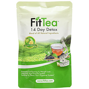 5. Fit Tea 14 Day Detox Herbal Weight Loss Tea