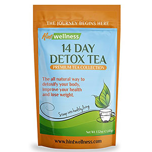 9. Hint Wellness 43g 14-Day Detox Tea