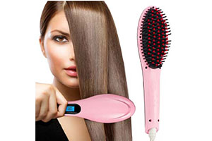 Hair Straightener Brush for Women