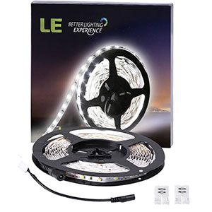 1. Lighting Ever 16.4ft LED Flexible Light Strip