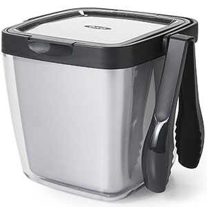 6. OXO Good Grips Ice Bucket (Double Wall)
