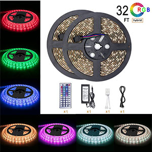 7. DAYBETTER 32.8ft Waterproof LED Strip Light