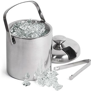 5. GSCW Small Ice Bucket with Tongs