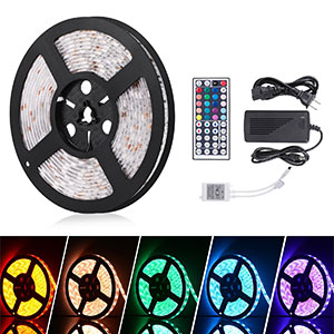 5. ihomy 16.4ft LED Flexible Light Strip