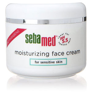 9. 2.6-Ounce Sebamed Moisturizing Cream for Sensitive Skin