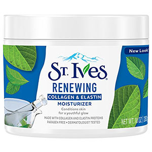 4. Collagen Elastin, St. Ives Renewing Facial Moisturizer, 10 oz