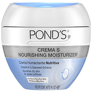 6. Pond's Moisturizing and Nourishing Cream, Crema S 14.1 oz