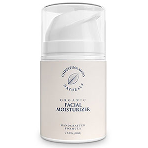 1. Facial Moisturizer, Natural and Organic Face Moisturizing Cream for Oily, Sensitive or Dry Skin