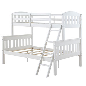 10. Dorel Asia Dorel Living Twin over Full Bunk Bed