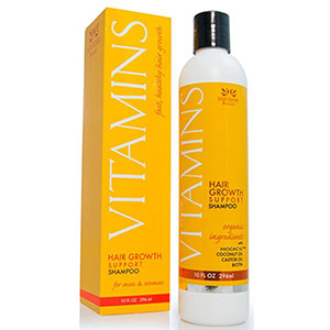 5. Nourish Beaute Vitamins Hair Growth SHAMPOO
