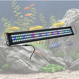 5. Yescom Multi-Color Fish Tank LED Light
