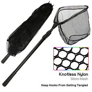 10. Goture Foldable Telescoping Fishing Net
