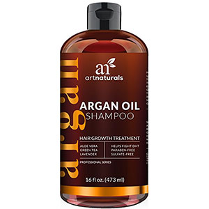 8. ArtNaturals 16 Oz Organic Hair Loss Shampoo