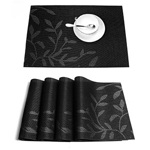 7. HEBE Vinyl Table Placemats