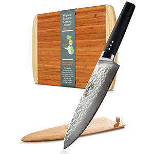 8. Greener Chef Damascus Professional Knife