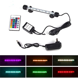 6. Smiful Underwater Fish Tank LED Light