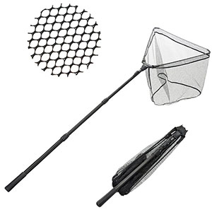 5. Fishingsir Foldable Telescopic Fish Net